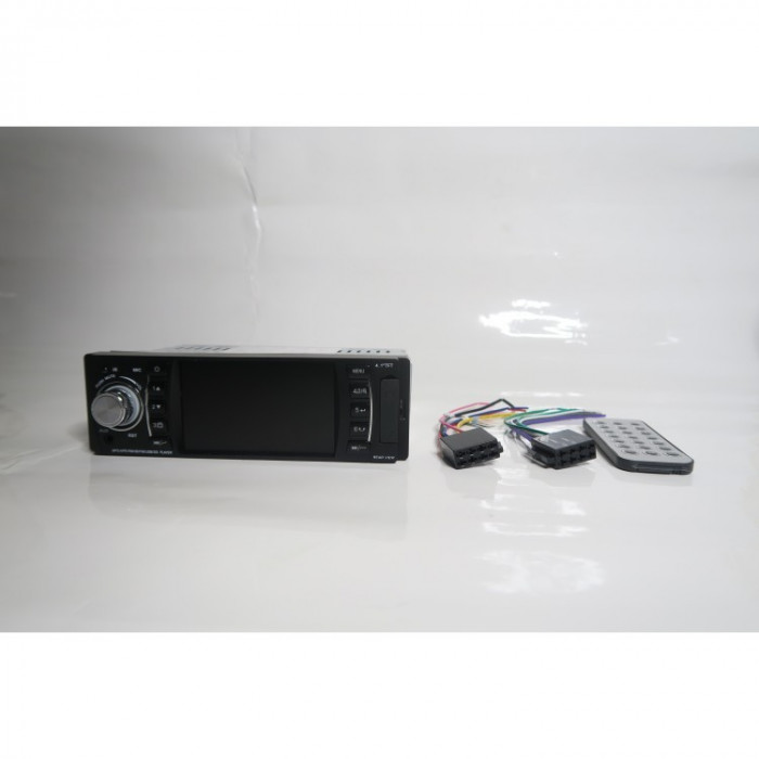 MP5 Player auto, radio casetofon USB, bluetooth, AUX, card reader SD, 1 DIN