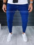 Blugi barbati albastri slimfit - COLECTIE NOUA  - A6915