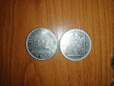 Schimb cu monede vechi 10 și 5 lei foto