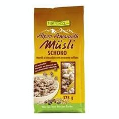 Musli Bio cu Amarant si Ciocolata Rapunzel 375gr Cod: 800480