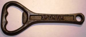 O.035 DESFACATOR VECHI STICLE BERE CAPACE OPENER CROWN CORK 86mm