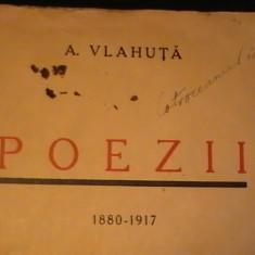 POEZII- AL. VLAHUTA-1880-1917-254 PG-