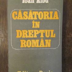 CASATORIA IN DREPTUL ROMAN-IOAN ALBU