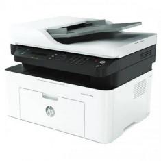 Multifunctionala Laser Monocrom Hewlett Packard MFP 137fnw Retea Wi-Fi A4 Alb