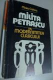 MILITA PETRASCU SAU MODERNITATEA CLASICULUI DE MAIA CRISTEA 1982