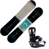 Placa Snowboard Rome Mechanic cu legaturi United black