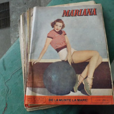 Colectie reviste,MARIANA.Anii1945-46 si 47.Sunt 25 de numere.