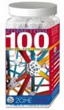 Cumpara ieftin Set stiintific de constructie Zometool - 100 piese extra