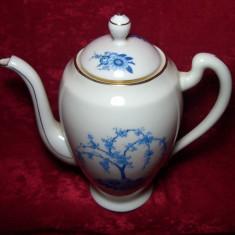 Ceainic portelan Limoges stil Baroc Victorian, colectie, vintage