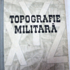 TOPOGRAFIE MILITARA-DRAGOMIR VASILE