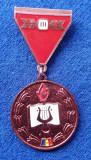 Insigna FESTIVALUL NATIONAL CANTAREA ROMANIEI 1978-1979 - EVIDENTIAT
