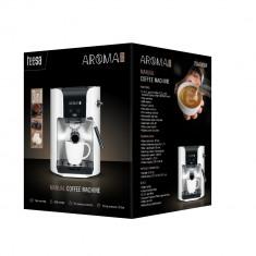 Espressor manual 1400 W Teesa Aroma alb