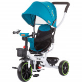 Tricicleta cu Copertina si Sezut Reversibil Jetro, Colectia 2021 Ocean, Chipolino
