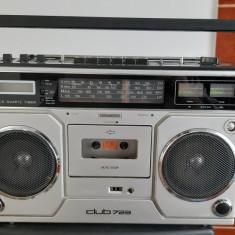 RADIOCASETOFON SIEMENS CLUB 723 . RARITATE !  ANUL 1991 FABRICATIE .