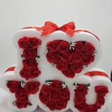 Aranjament trandafiri sapun