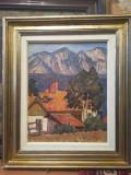 Tablou ulei Ioan Cârdei, Peisaje, Impresionism