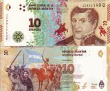 ARGENTINA 10 pesos 2015 UNC!!!