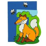 Magnet cu animale - Litera F | Bigjigs Toys
