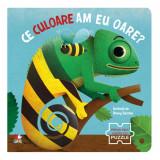 Carte Editura Litera, Ce culoare am eu oare? Prima mea carte cu puzzle
