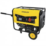 Generator curent electric SG7500B, 7500 W, AVR, 230 V, 4 timpi, 25 l, benzina, autonomie 6.3 h, Stanley