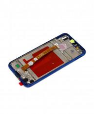 Ecran LCD Display Cu Rama Huawei P20 Lite Albastru foto