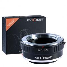 Inel adaptor Minolta MC MD lens - la Body Sony NEX E-mount NEX NEX3, Kent Faith
