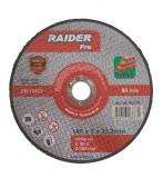 Disc pentru taiere piatra 125 x 3.0 mm Raider PRO
