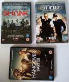 3 filme (5DVD) : Shank, Hot Fuzz, The Hangover III Simon Pegg, Bradley Cooper, DVD, Engleza, universal pictures