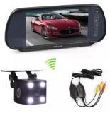 Pachet Auto De Mers Inapoi  Monitor Lcd +Camera 4 Led Wireless