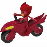 Motocicleta Eroi in Pijama Moon Rover cu Figurina Owlette