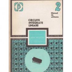 Circuite integrate liniare - manual de utilizare - vol. II