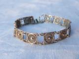 BRATARA argint TRIBALA YEMEN in filigran VECHE vintage RARA de efect SPLENDIDA