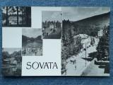399 - Sovata - vedere multipla, mozaic / cp RPR circulata 1959, Necirculata, Fotografie