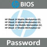 Bios UNLOCK Password  HP ZBook 14, 15, 17, G2 Mobile Workstation