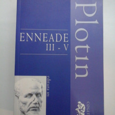 ENNEADE III-V - Plotin