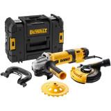Polizor unghiular profesional 1500W Ø125mm set pentru suprafete DeWALT® - DWE4257KT