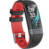 Bratara Fitness iUni G26, Display OLED 0.96 inch, Bluetooth, Pedometru, Notificari, Rosu
