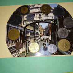 Monede Italia de la 1914 pana la anii 1994 (Amanunte pe foto insotitoare)