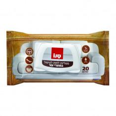 Servetele pentru curatat pielea Sano Leather Care, 20buc