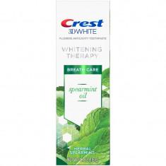Pasta de Dinti Crest 3D White - Whitening Therapy Spearmint Oil - 116gr