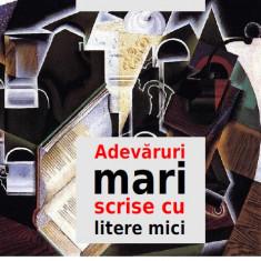 carte pdf  Adevăruri mari scrise cu litere mici - Mihai Vintilă   Ebook