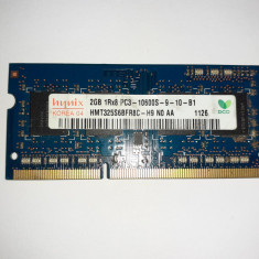 Memorie RAM laptop 2GB DDR3 Hynix