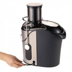 Storcator de fructe Tefal ZN655H, 1200 W, Recipient suc 1.25 l, Recipient pulpa 2 l, 2 Viteze, Tub de alimentare 85 mm, Negru/Inox