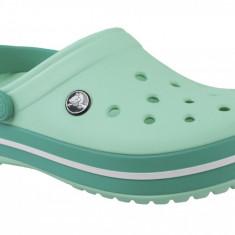 Papuci pentru Crocs Crockband 11016-3R6 pentru Femei, Verde