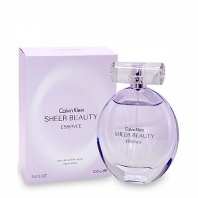 Apa de toaleta Tester Femei, Calvin Klein Beauty Sheer Essence, 100ml foto