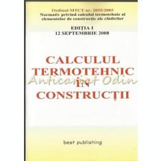 Normativ Privind Calculul Termotehnic In Constructii - Cristian Murica