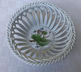 Frumoasa farfurioara de portelan produsa de renumita fabrica ungureasca HEREND