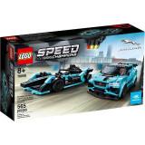 Lego Formula E Panasonic Jaguar Racing Gen2 Car & Jaguar I-Pace Etrophy