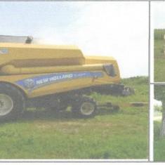 Combina New Holland , Tractor ,Semanatoare , culegator