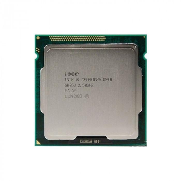 Procesor Refurbished Intel Dual Core G540, 2.50GHz, 2Mb Cache